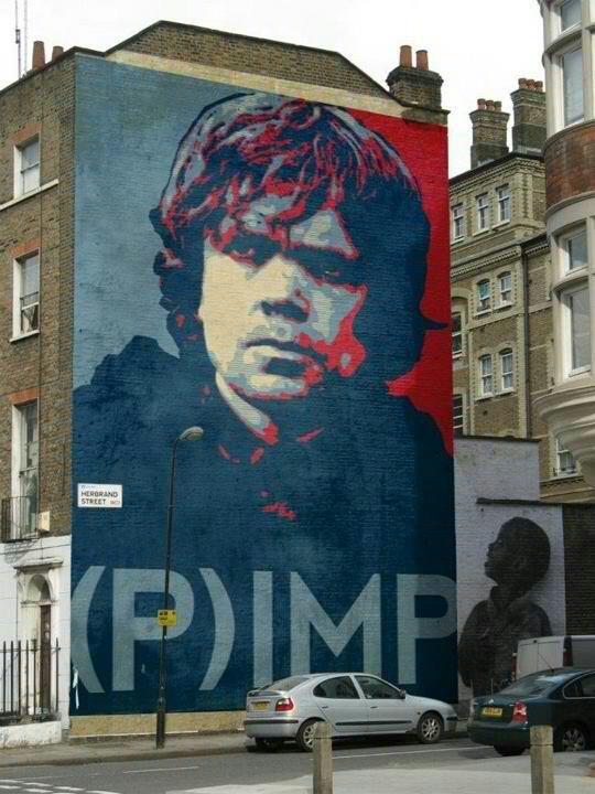 Tyrion Lannister graffiti